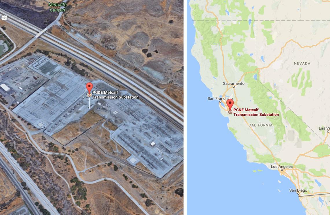 Metcalf Substation - Coyote, California