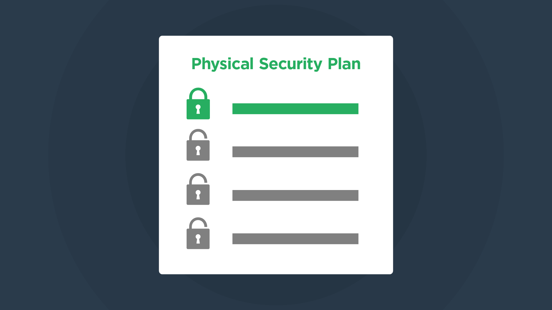 Physical Security Plans