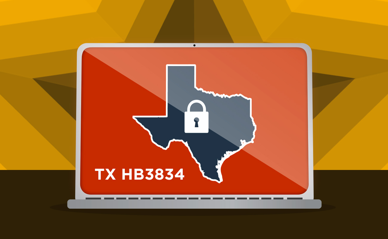 Texas HB 3834 Cyber Security Awareness Training Requirements