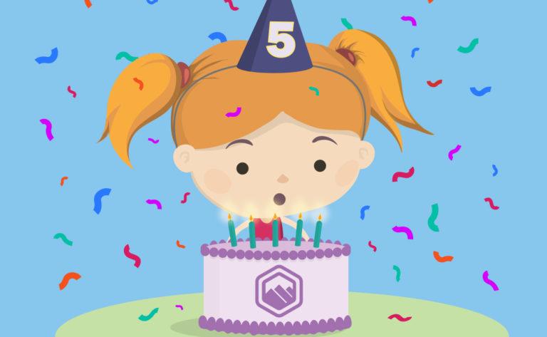 curricula celebrates 5 year