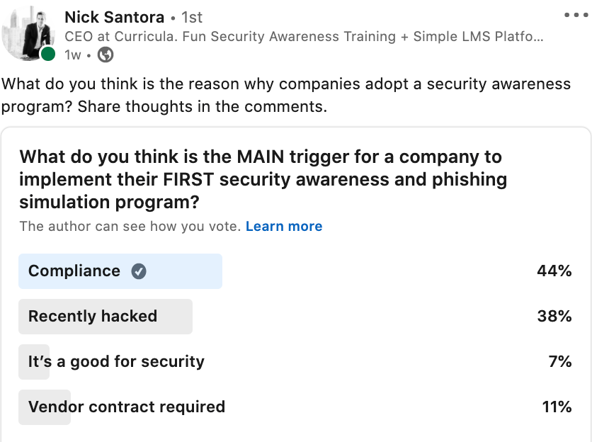 How Does Good Security = Good Compliance?